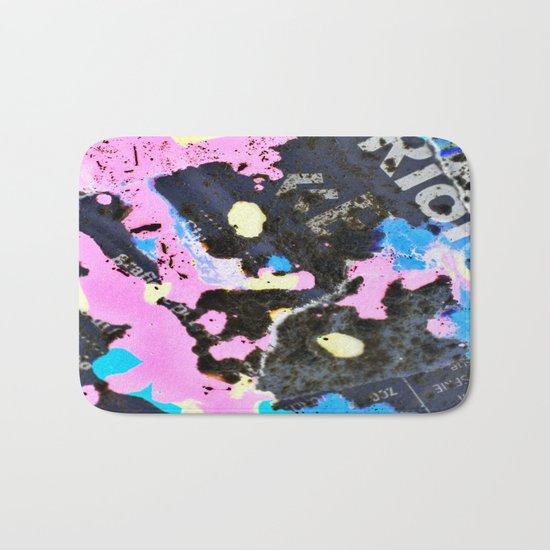 Art abstract # #### Bath Mat