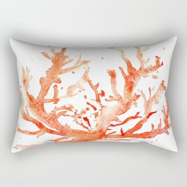 The Coral of Sciacca Rectangular Pillow