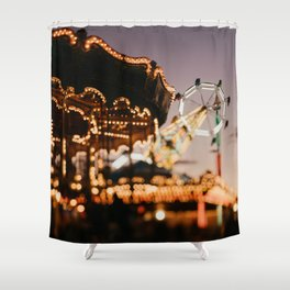 August Ombre Shower Curtain