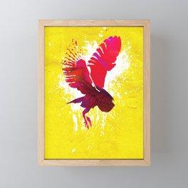 Natural Flight Framed Mini Art Print