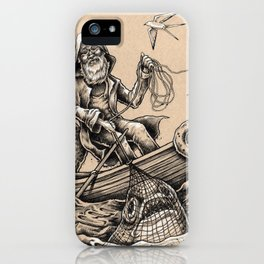 Cast Net Surprise iPhone Case