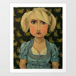 Kristy-Jane Art Print