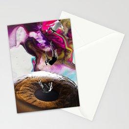CAIDA A UN ABISMO OCULAR Stationery Cards