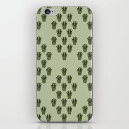 Emerald Thicket iPhone Skin
