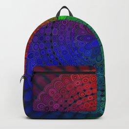RGB Mandala Backpack