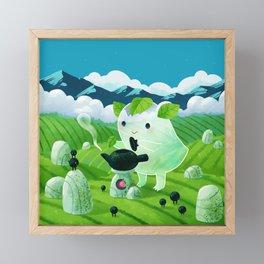 Tea shrine and Tea spirit Framed Mini Art Print