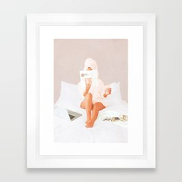 Weekend Morning II Framed Art Print