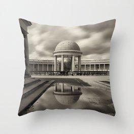 Eaton Park, Norwich, Norfolk Throw Pillow