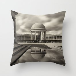 Eaton Park, Norwich, Norfolk Throw Pillow
