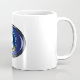 CIA Flag Oval Coffee Mug