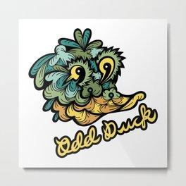 Odd Duck Metal Print