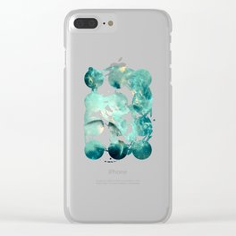 Planets Discovery Clear iPhone Case