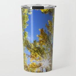Fall Leaves in Colorado Travel Mug