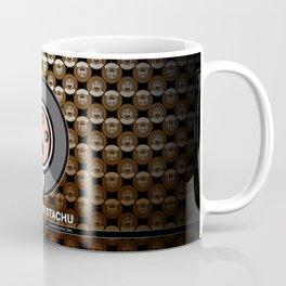 le bébé moustachu - logotype - 3 Coffee Mug