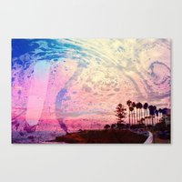 west coast Canvas Prints featuring West Coast by marcus baker