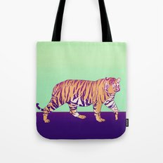 Tiger Under the Sun Tote Bag