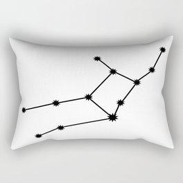Virgo Astrological Star Sign Minimal Rectangular Pillow