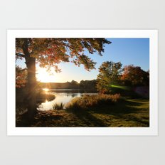 Fleeting Fall Art Print