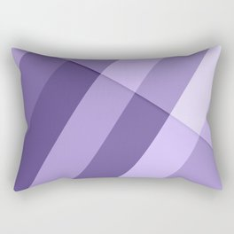 Ultra violet purple modern geometric lines Rectangular Pillow