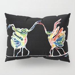 Praying Mantis Dance Pillow Sham