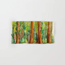 Sequoia National Park Hand & Bath Towel