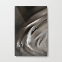 Tempus Fugit #abstract #sabidussi #artprints #society6 Metal Print