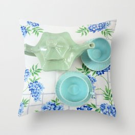 Tea for Two Throw Pillow