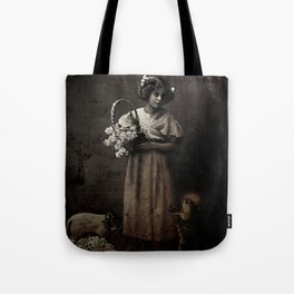 Like Lambs to the Slaughter Tote Bag