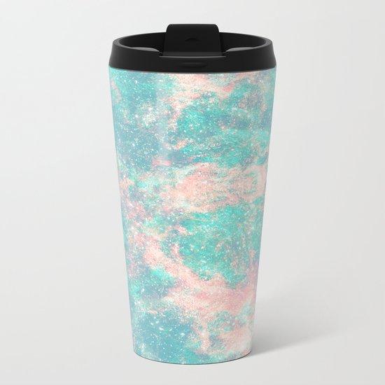 Ocean Foam In The Stars Metal Travel Mug