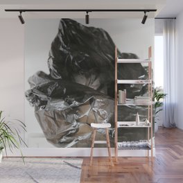black plastic 04 Wall Mural