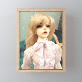 Aristocratic Prince Kallias doll Framed Mini Art Print