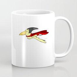 Super Bird in Motion Coffee Mug