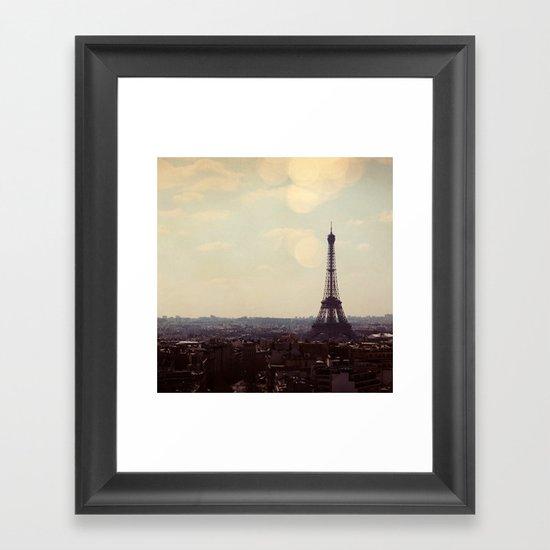 City of Light Framed Art Print