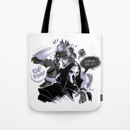 Tracer and Reaper Tote Bag
