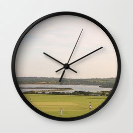 A Very English Scene. Wall Clock