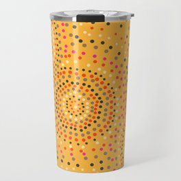 Aboriginal circles Travel Mug