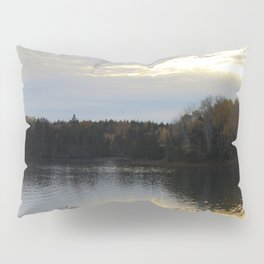 Downeast Autumn Reflections of Scattered Illuminations Pillow Sham