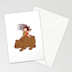 Boombox Kintaro -remake version- Stationery Cards
