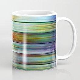 Colorful Metal Ribbons Pattern Coffee Mug