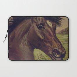Vintage Horse Illustration (1893) Laptop Sleeve