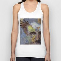 poe Tank Tops featuring Poe by Michael Creese