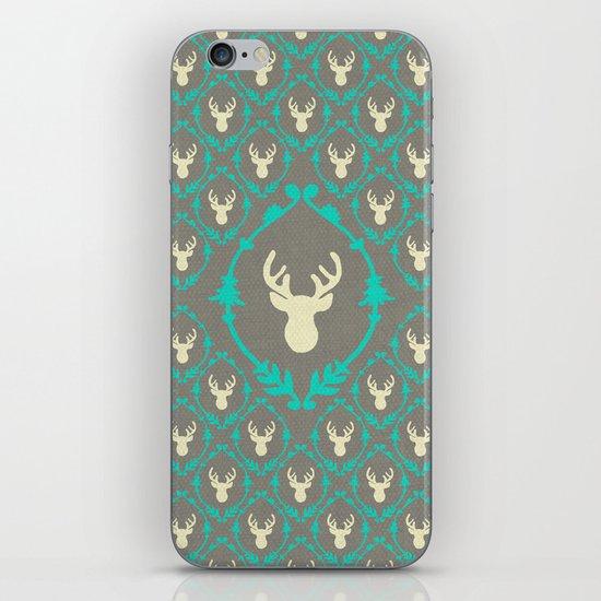 Oh Deer (white) iPhone & iPod Skin