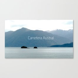 Carretera Austral - Chile Canvas Print
