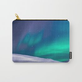 winter sky aurora Carry-All Pouch