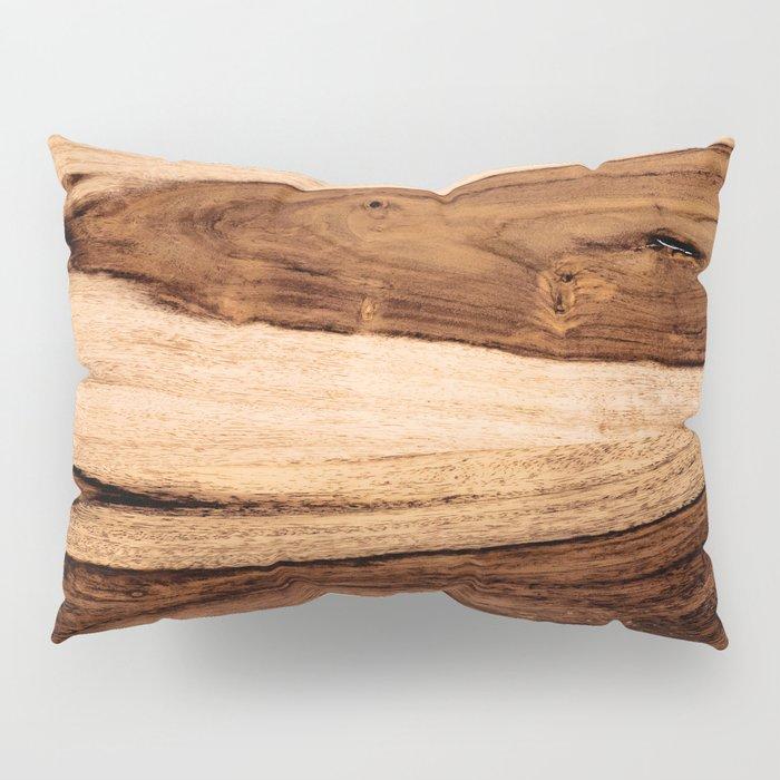 Sheesham Wood Grain Texture, Close Up Pillow Sham