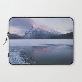Sunset at Vermillion Lakes Laptop Sleeve