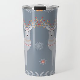 Nordic Winter Travel Mug