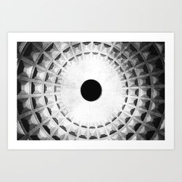 hole Art Print