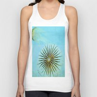 transparent Tank Tops featuring Transparent-Sea by Bella Blue Photography