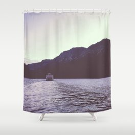 Sternwheeler on Lake Tahoe Shower Curtain